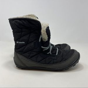 Columbia Womens Black Winter Boots Size 5